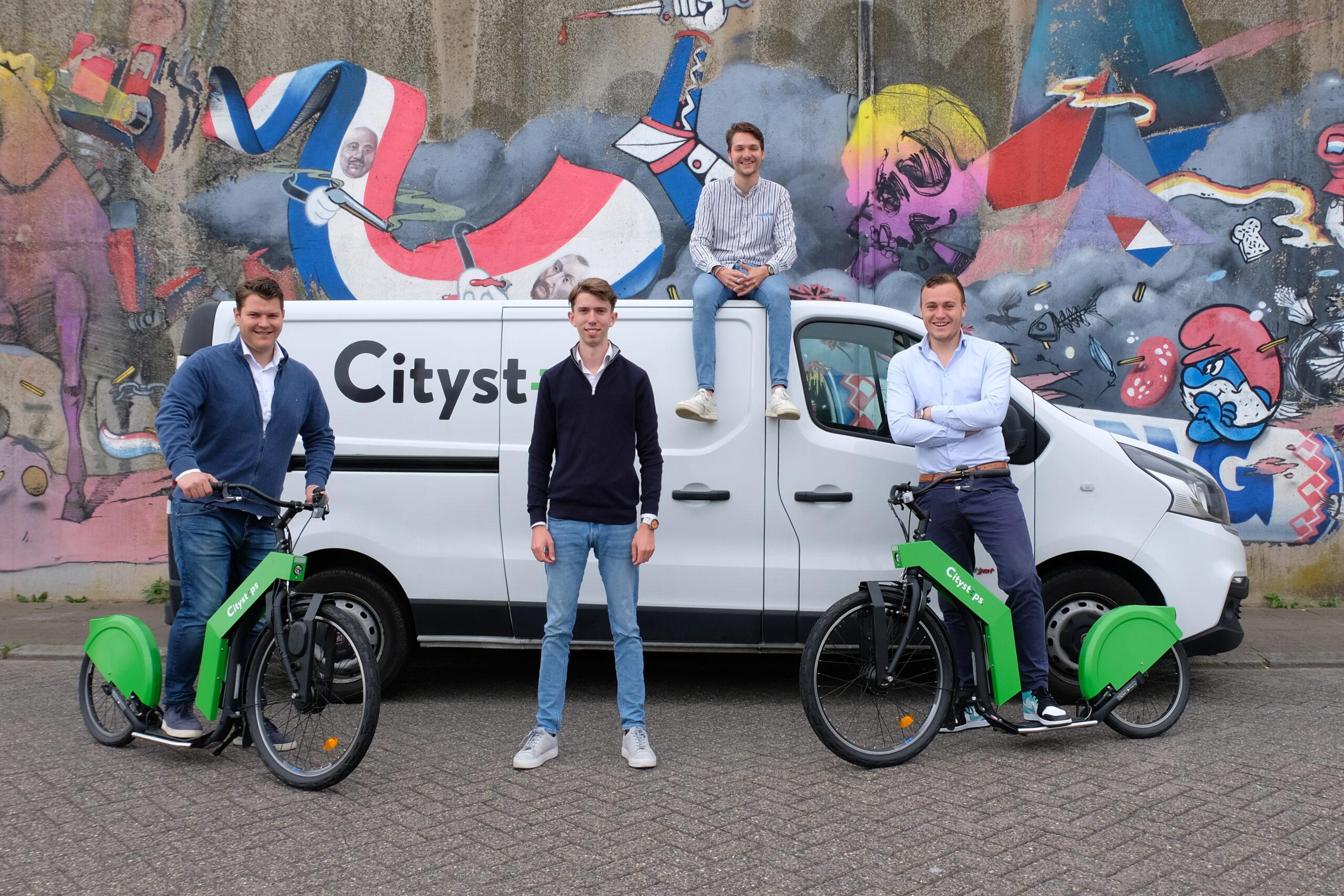 Groepsfoto Citysteps Team